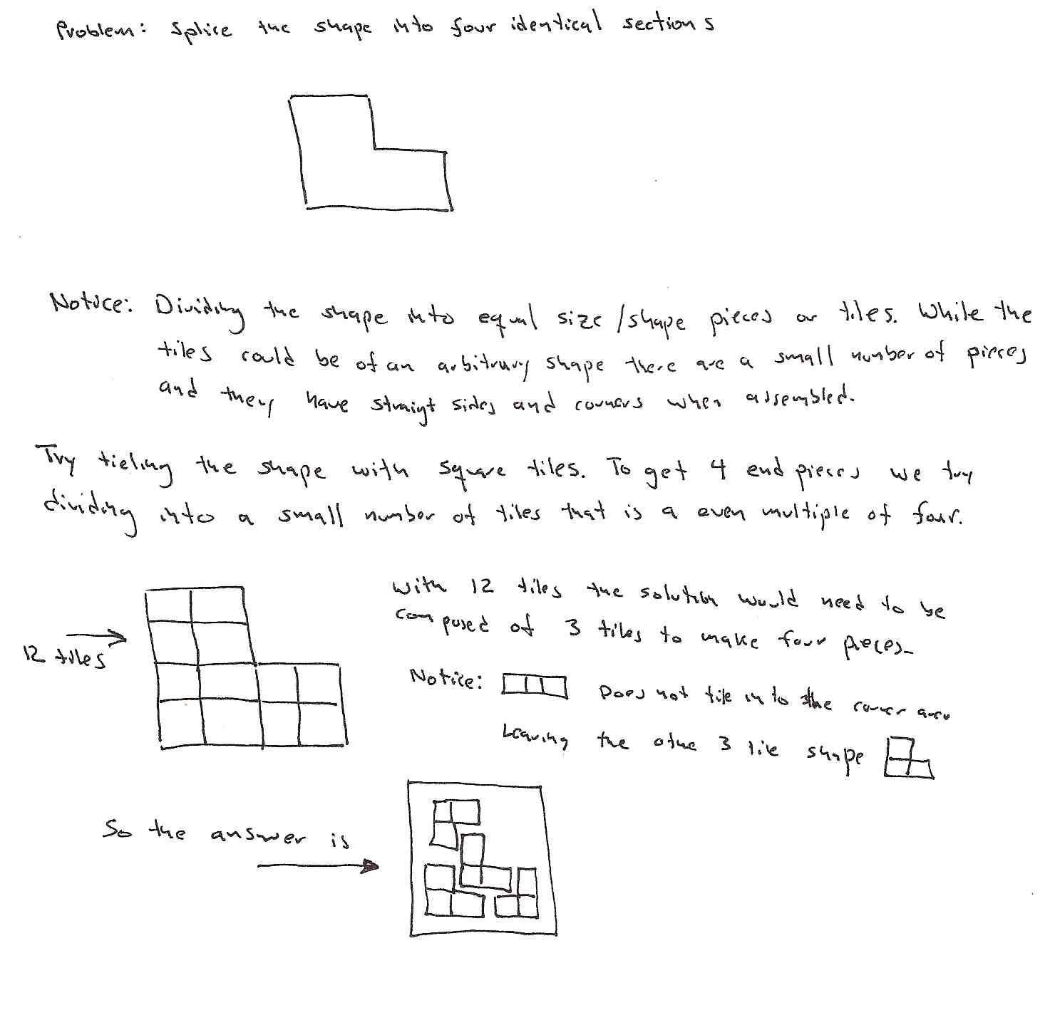 Simple tiling problem