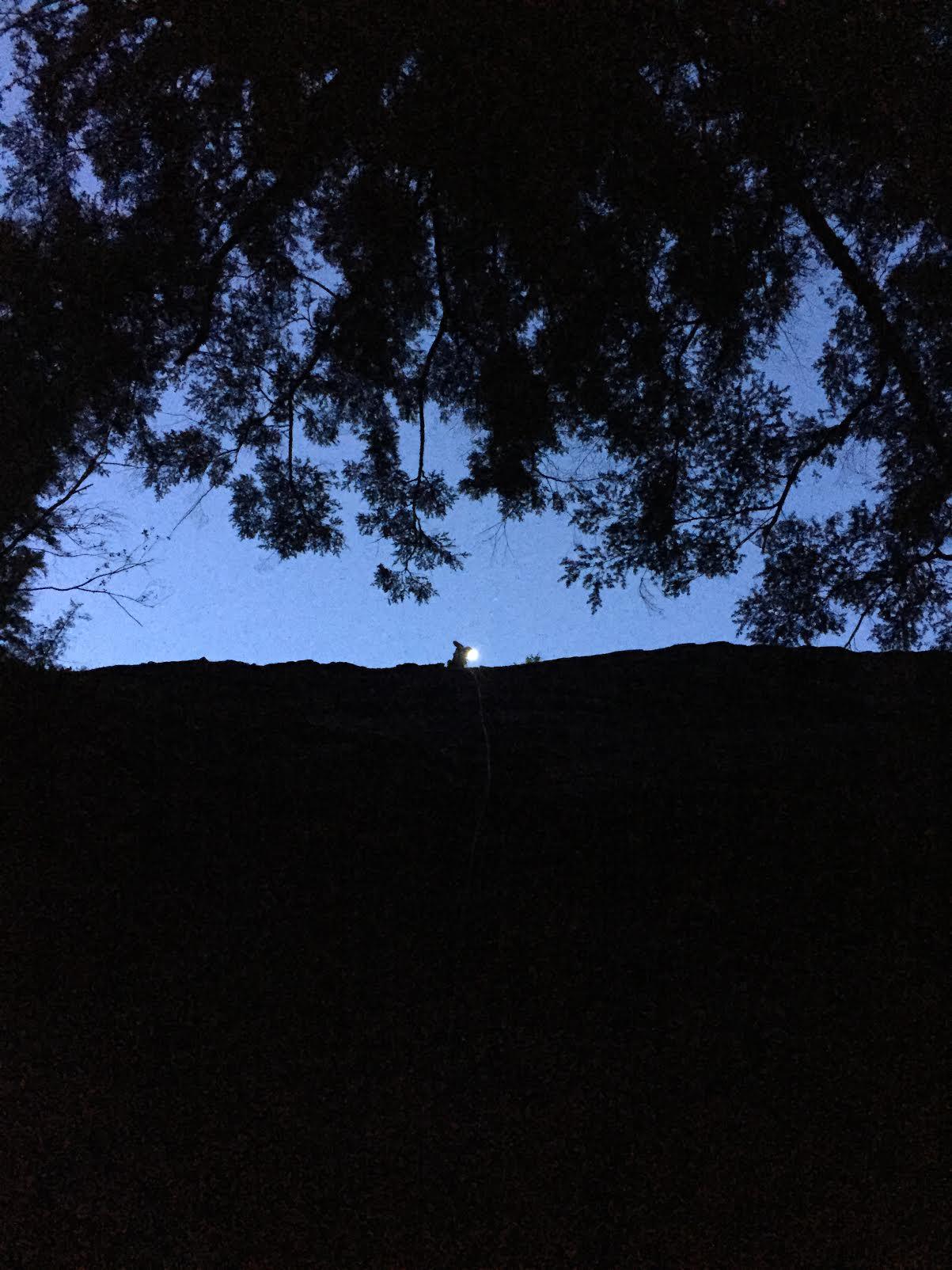 Night Climbing at Substation