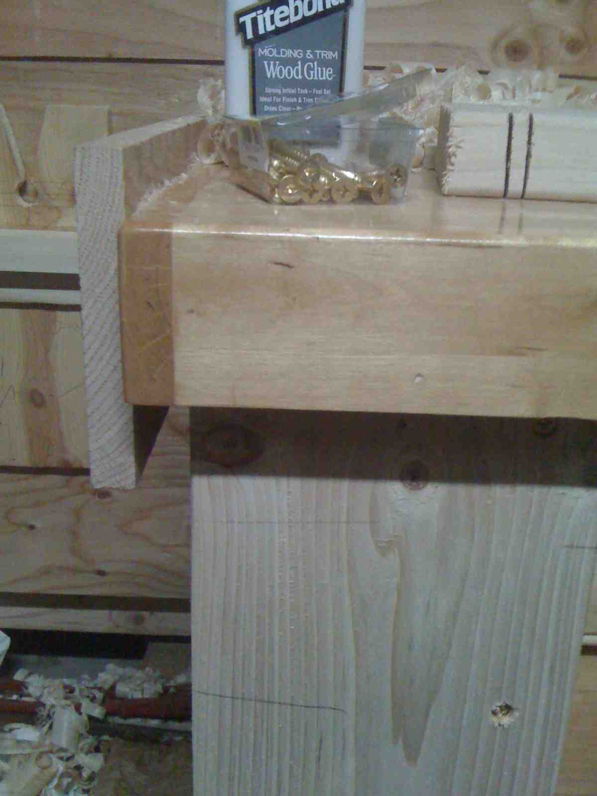 Aaron Toney S Homepage Woodworking Adding A Plane Stop To